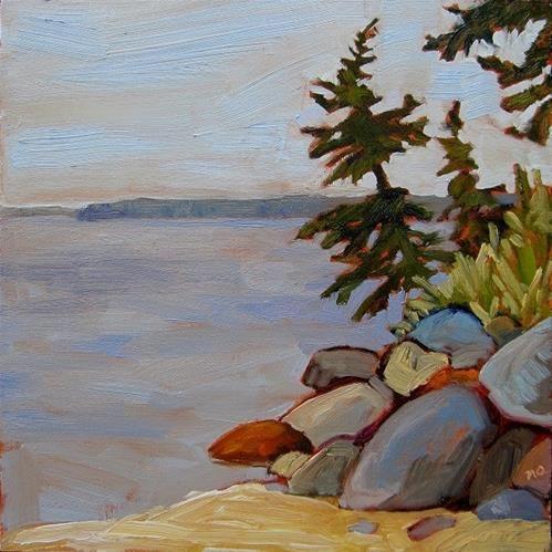 """Daily Paintworks - """"Tilt"""" - Original Fine Art for Sale - © Nicki Ault"""