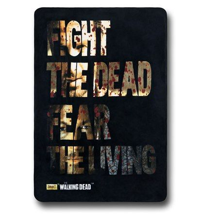 Walking Dead Throw Blankets Custom Walking Dead Fight Throw Blanket  Walking Dead And Blanket Inspiration Design