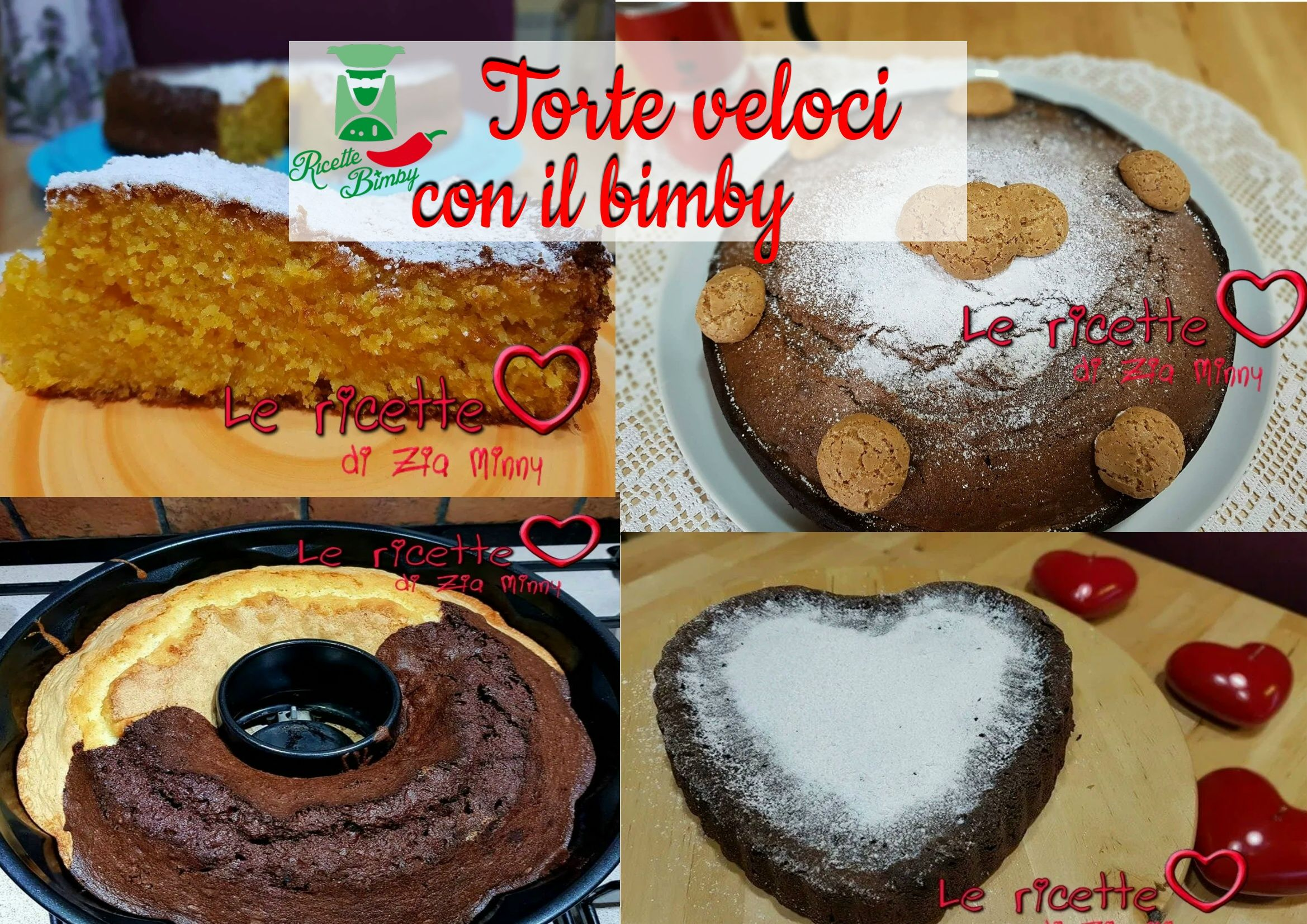 Photo of TORTE VELOCI CON IL BIMBY – LE RICETTE DI ZIA MINNY –