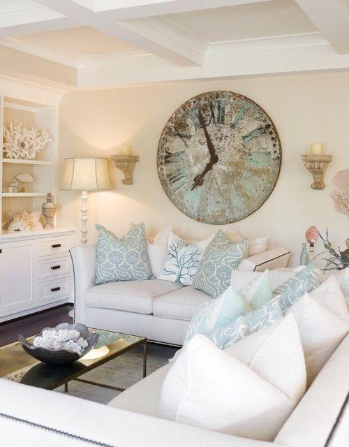 Crazy For Wall Clocks Beach House Interior Design Coastal