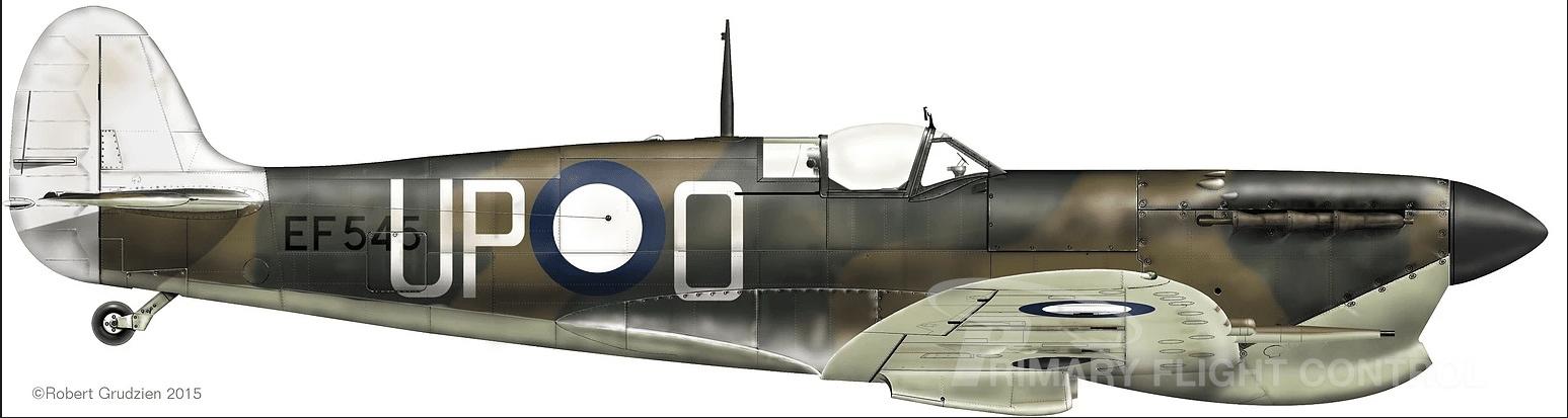 G-CDGY Westland / Supermarine Spitfire Vc, EF545 / Price