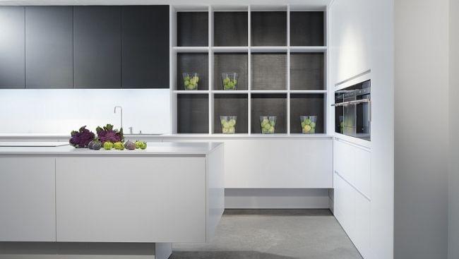 Laminat Reinweiss Moderne Designer Küchen Eggersmann