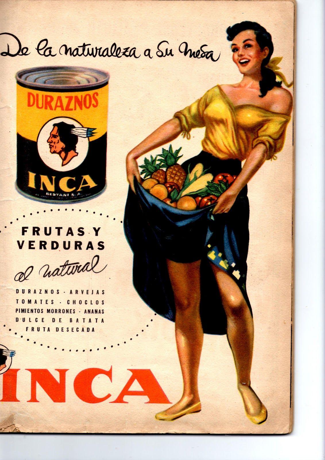 Frutas y verduras inca etiquetas carteles afiches pinterest publicidad retro - Carteles retro ...