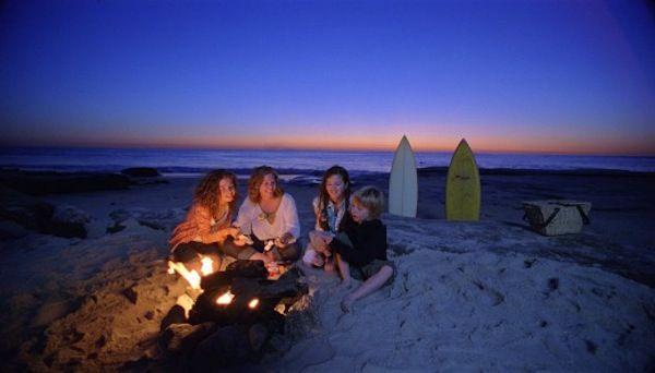 Best San Diego beaches for bonfires