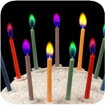 Colored Flame Candles Birthday Candles Candles Magic Birthday