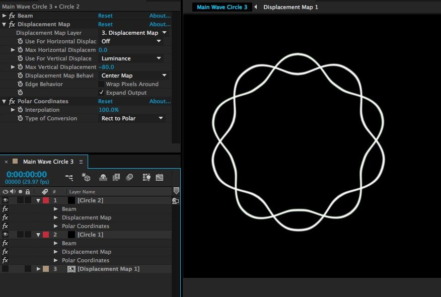 Graymachine Reconstructing this wave displaced circle in Adobe After