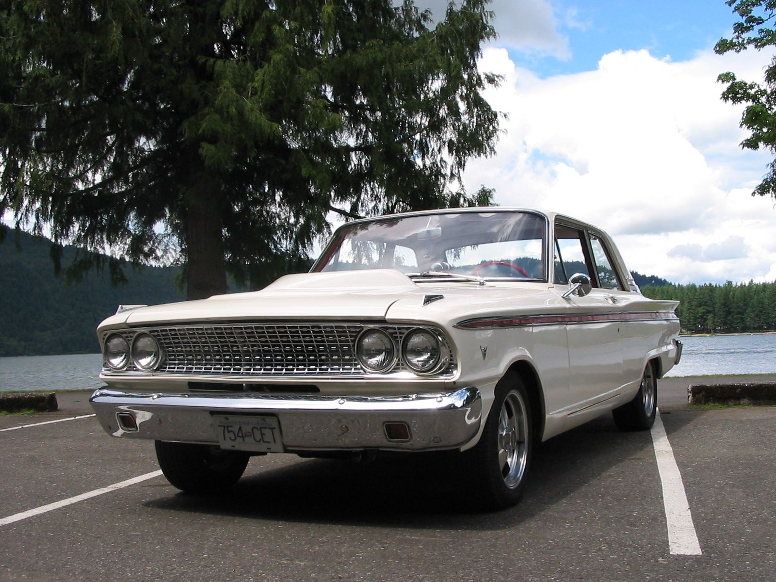 Fast 1963 ford fairlane 500 mile drag racing videos and timeslips
