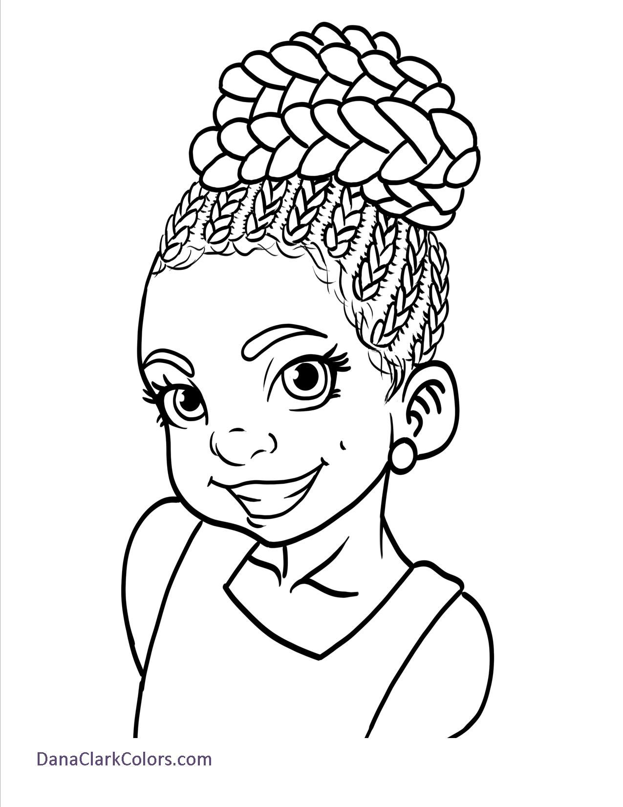 Childrens coloring sheet of a rag doll - Black Kids Coloring Page Africanamericancoloringpages