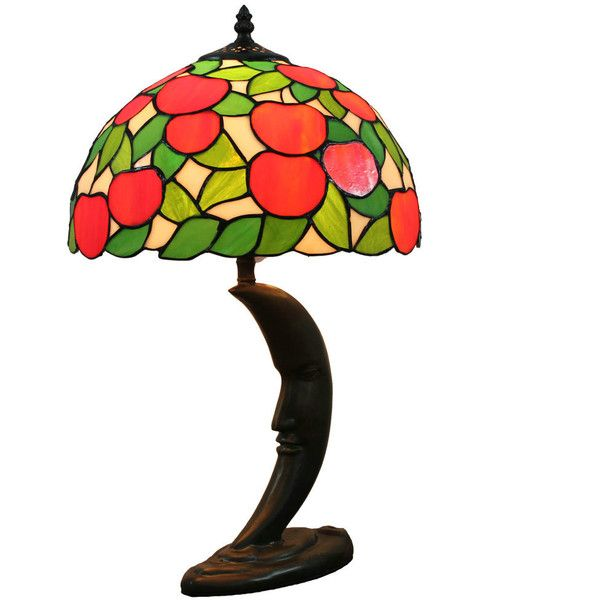 12inch european pastoral retro style table lamp red apple pattern 12inch european pastoral retro style table lamp red apple pattern 145 cad aloadofball Choice Image