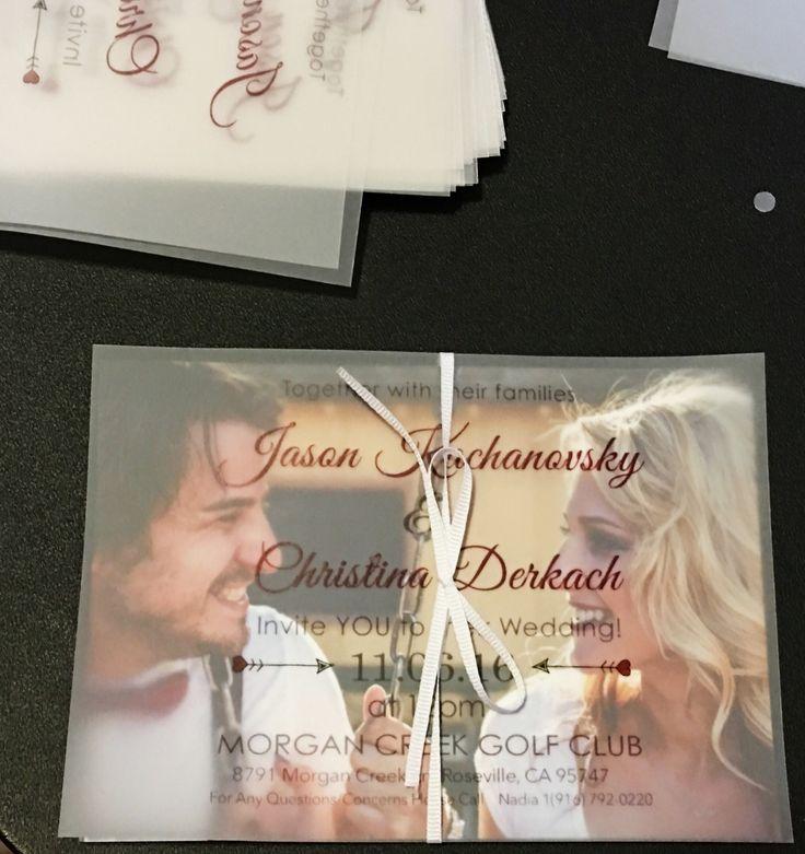 summer wedding invitation wording%0A Velum with ribbon   Invite card  Wedding ideas  wedding  invitations   weddinginviteideas