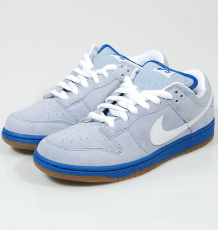 official photos e9e85 2703a Nike Dunk Low Pro SB Sea Crystal Boarder Blue White. Dragged my family all  the way to Malaga for this pair.
