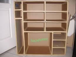 tutoriel meuble en carton patron gratuit recherche google pinterest. Black Bedroom Furniture Sets. Home Design Ideas