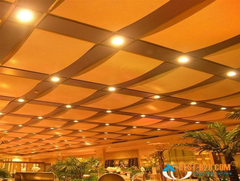 Unique Acoustical Ceiling Panels - http://dorvilhomes.com ...