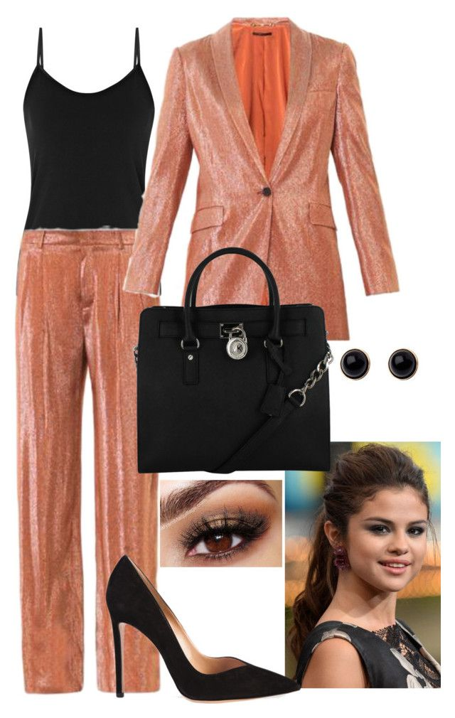 Untitled #137 by teenfashionicon2 on Polyvore featuring polyvore, ファッション, style, Adele Marie, Gucci, Reiss, Michael Kors and Gianvito Rossi