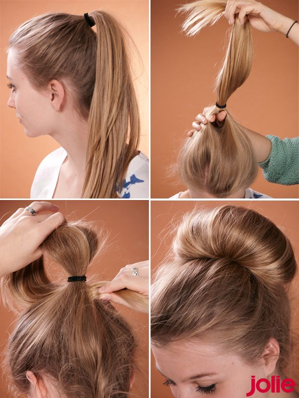 Frisuren Step By Step Zöpfe Pinterest Hochsteckfrisur Frisur