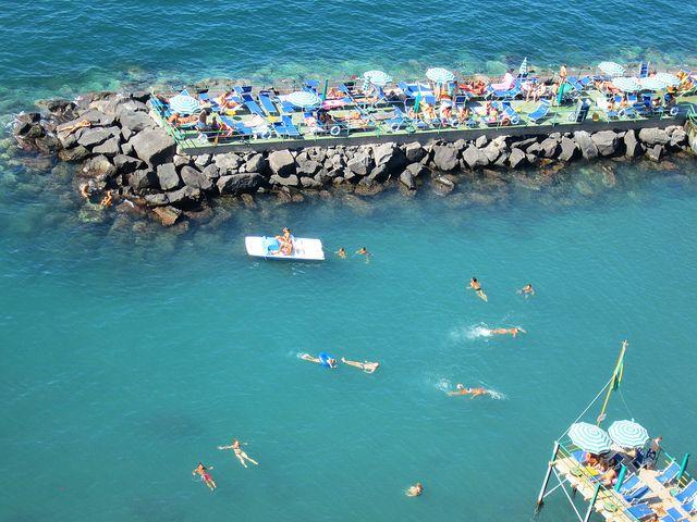 Marameo Beach In Sorrento Italy Italy Honeymoon Sorrento Italy Italy Beaches