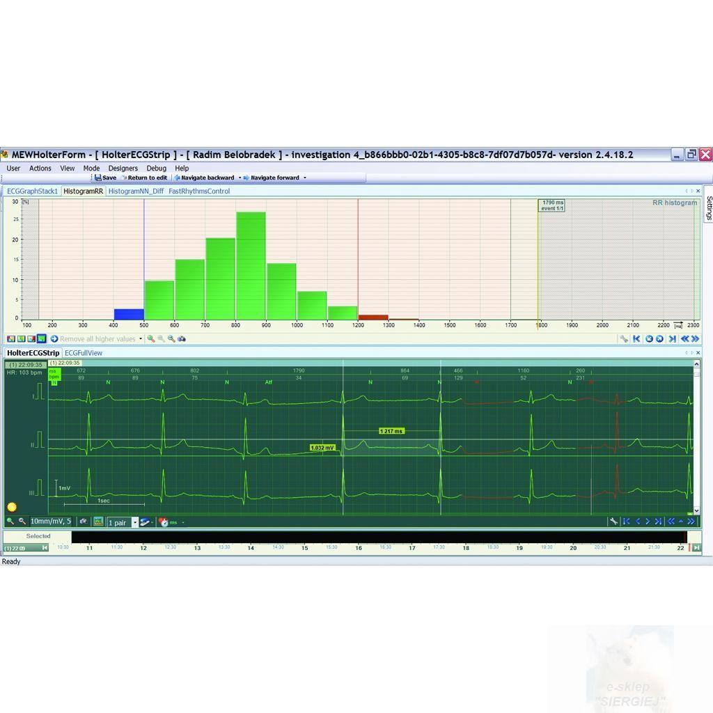 BTL CardioPoint-Holter H600 SW