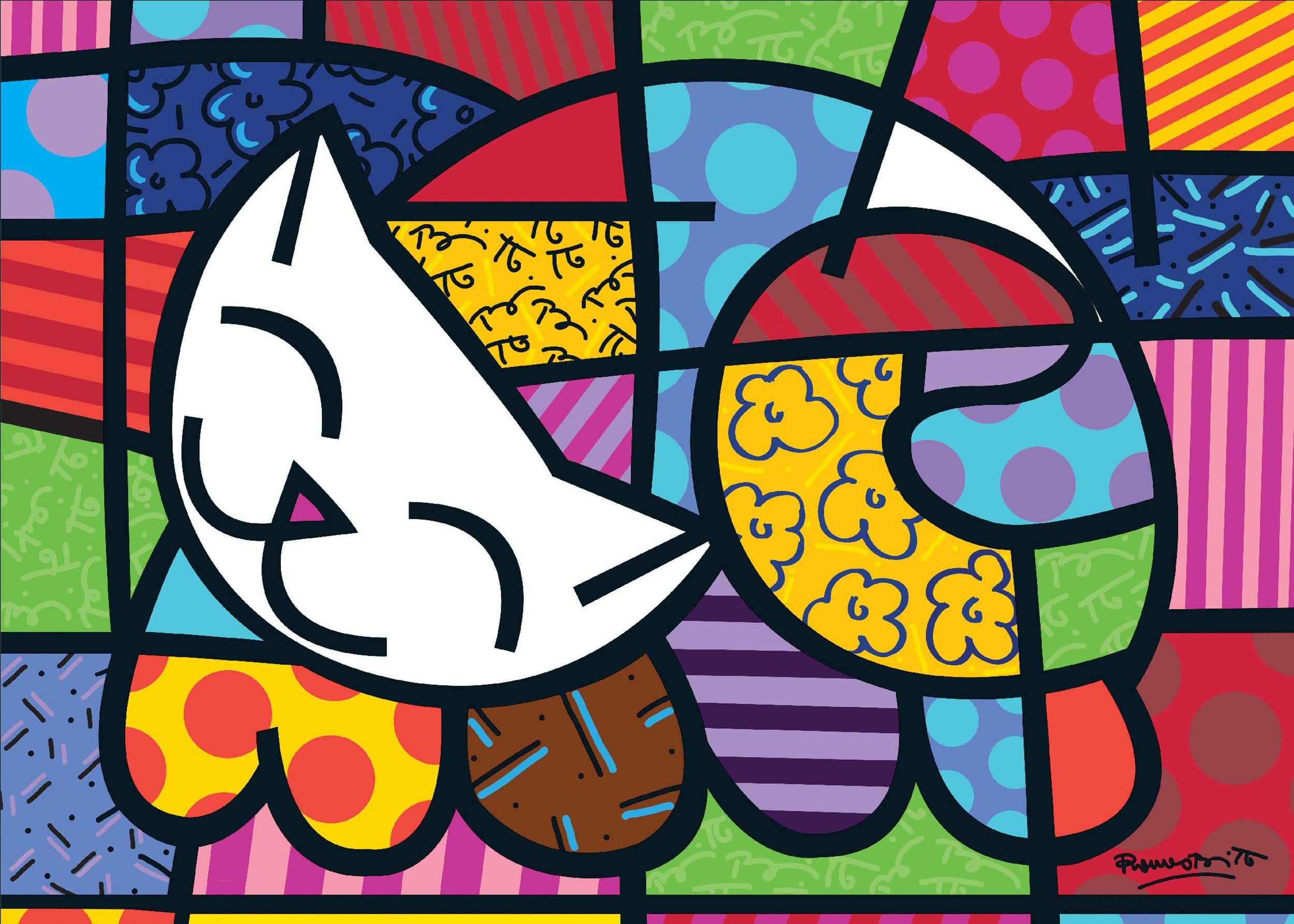 pintor brasileño romero britto - Buscar con Google | inspiracion ...