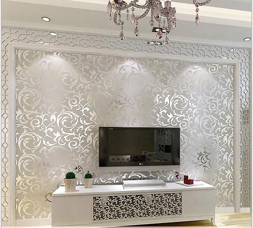 3d european waterproof living room wallpaper bedroom sofa for Waterproof wallpaper for bedrooms