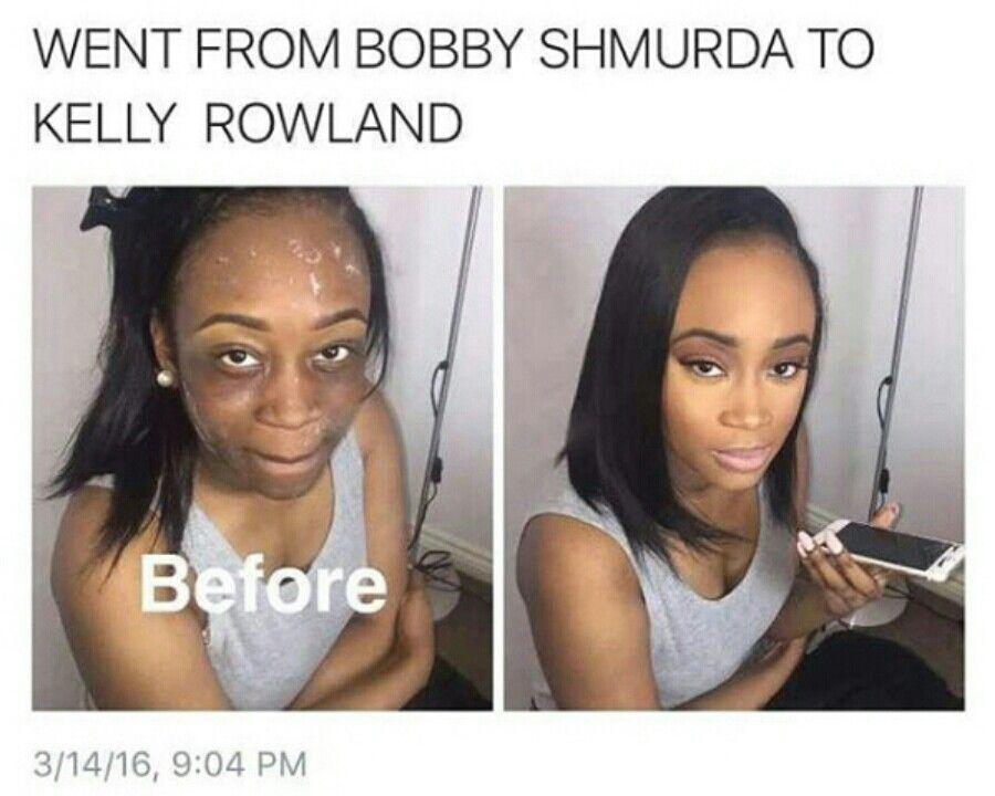 Black Makeup Transformation Meme | Saubhaya Makeup