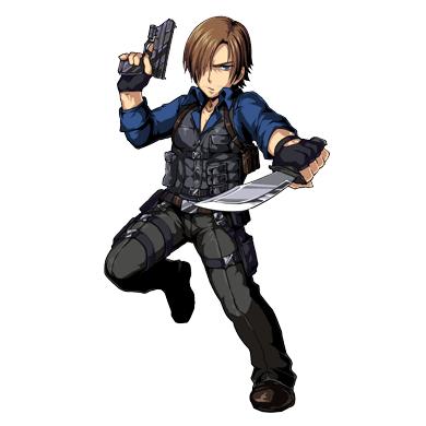 Leon S Kennedy Biohazard Clan Master Re6 Resident Evil Anime Resident Evil Game Resident Evil Collection