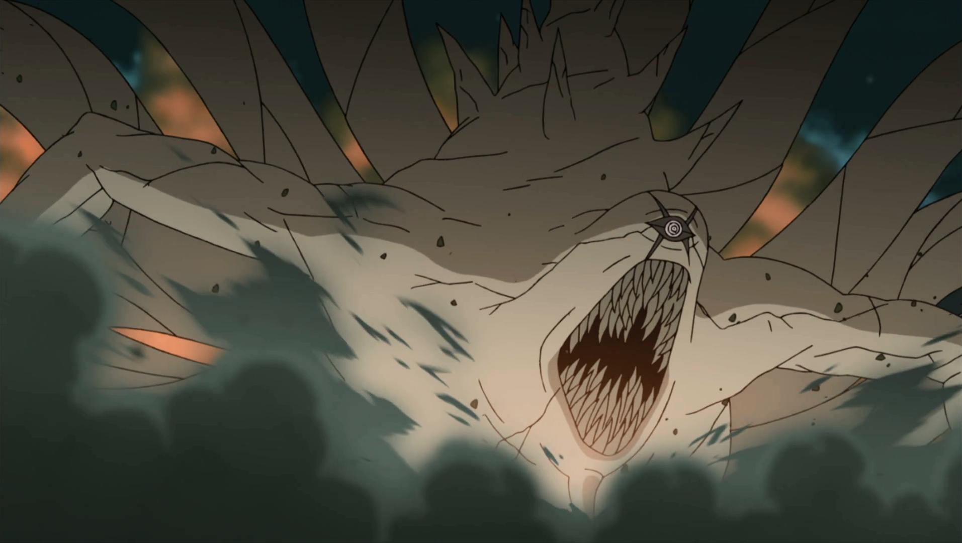 Ten Tails Narutopedia Fandom Powered By Wikia Tailed Beasts Naruto Naruto Naruto Drawings