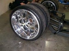 Custom Dually Wheels 24 Inches Bing Images Dually Pinterest