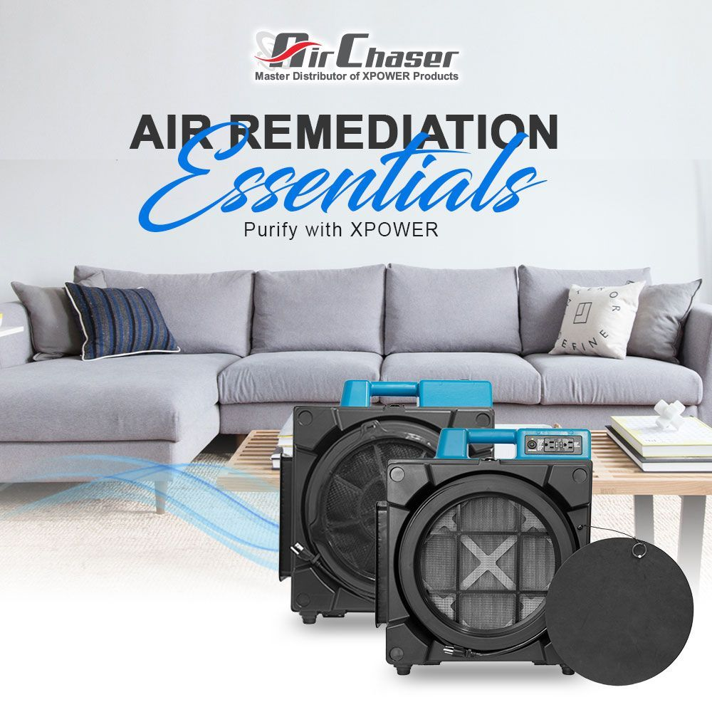 Purify your home or business with XPOWER's air scrubbers