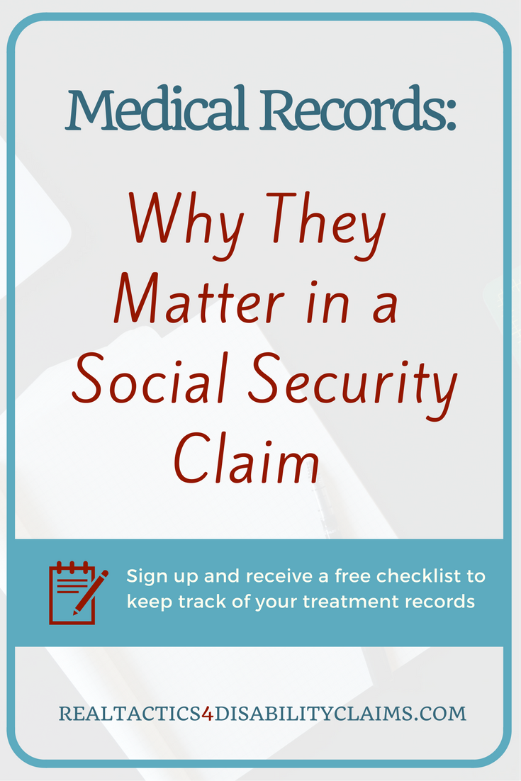 Medical Records And Why They Matter In A Disability Claim