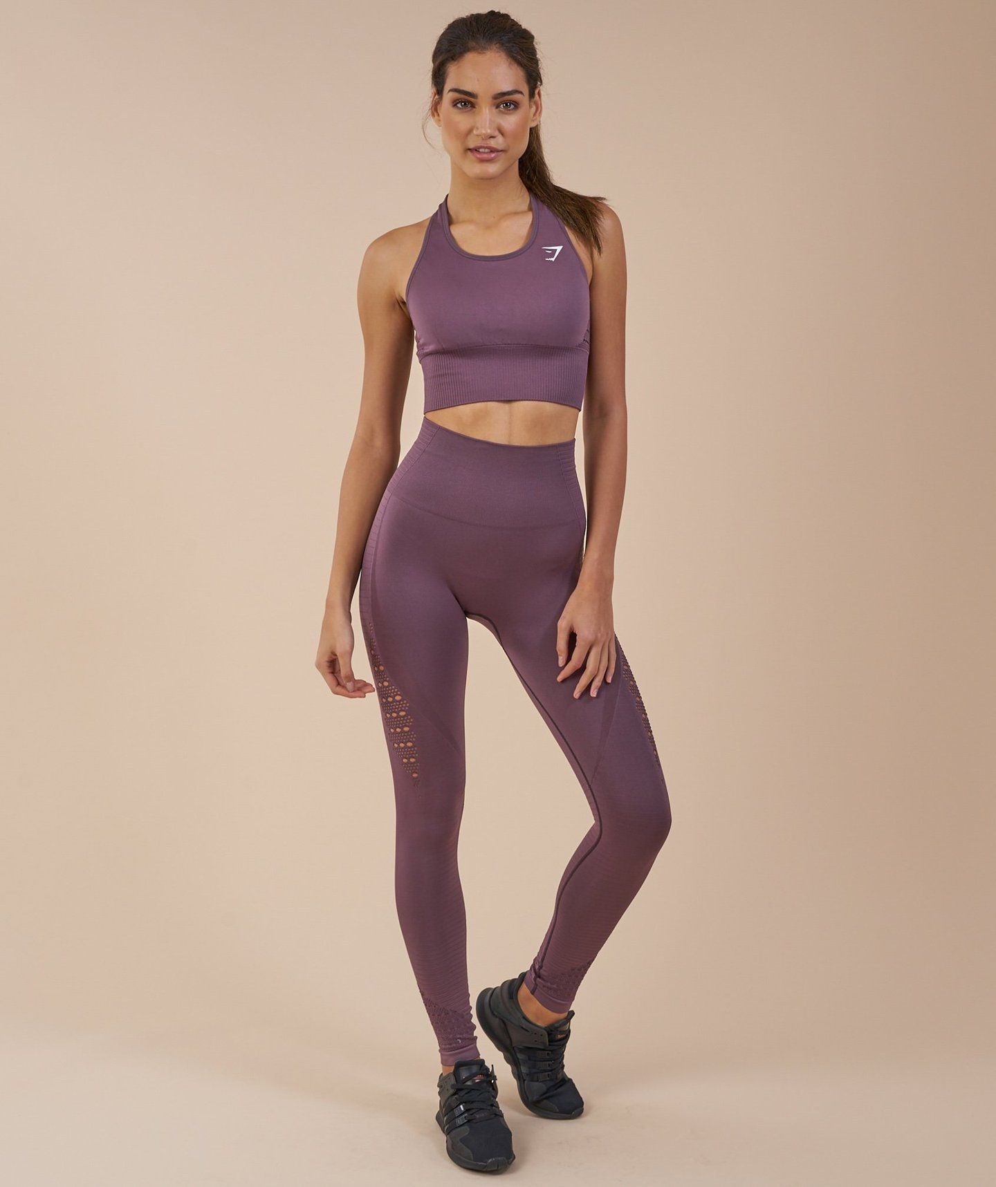 4c470a8d5bf28c Gymshark Seamless Energy High Waisted Leggings - Purple Wash 2 Gymshark  Energy Seamless High Waisted Leggings
