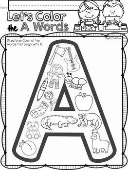 alphabet letter of the week a reading alphabet alphabet phonics phonics activities. Black Bedroom Furniture Sets. Home Design Ideas
