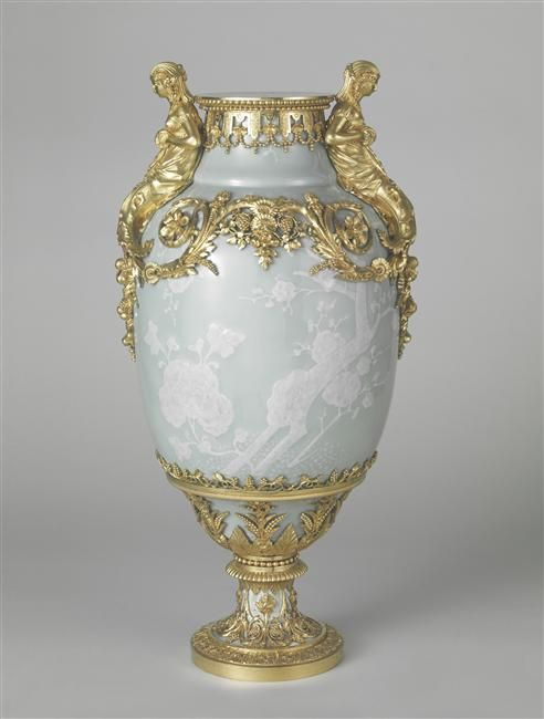 A vase (one of three) made for the petit and grand salons of the Mesdames for the chateau de Bellevue