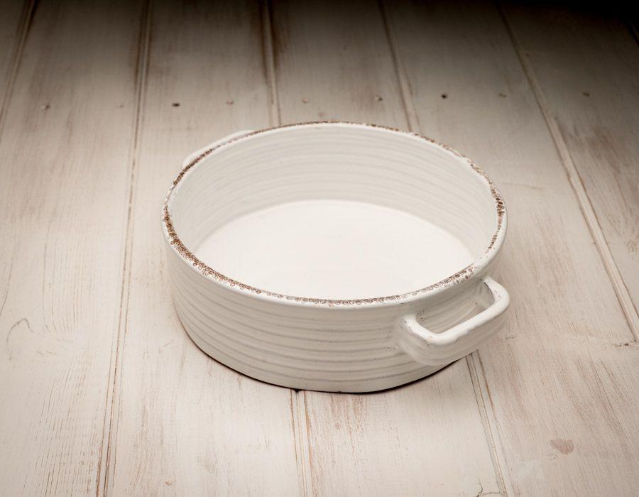 Handmade Ceramic Casserole White Ceramics Ceramic Baking Dish