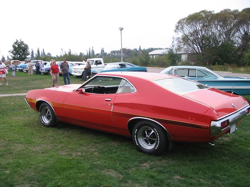 1972 Ford Gran Torino Sport By Gregory Urbano Classic Cars Muscle Cars Hot Rods Cars Muscle