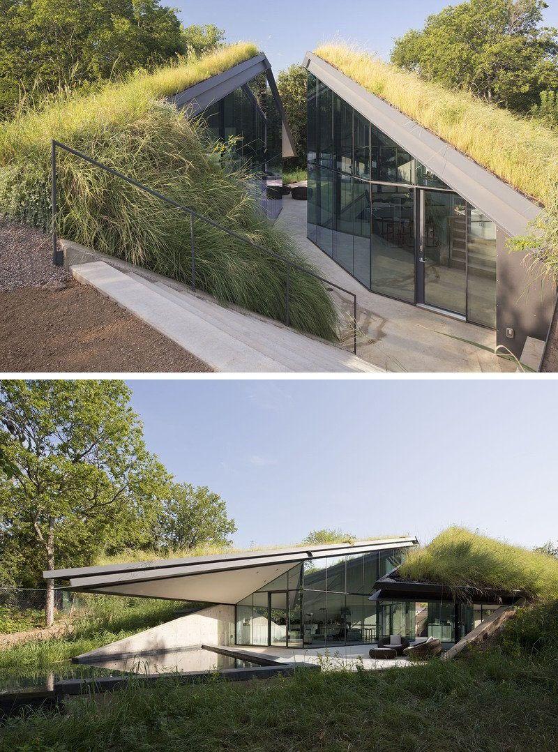 8 vorteile der installation a green roof on your home gr ndach architektur haus und gr ne - Grune architektur ...