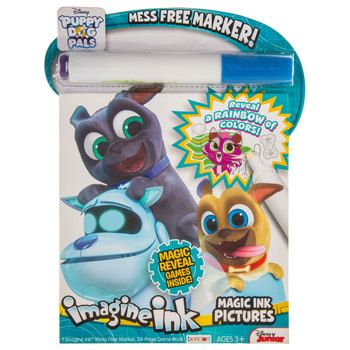 Disney Magic Ink Coloring Book Set Bundle Of 3 Imagine Ink Books For Boys Kids Toddlers Featuring Pj Masks Paw Patrol And The Incredibles With Invisible Ink Pens And Stickers Stickers