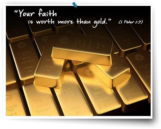 Your Faith Is Worth More Than Gold Gold Bullion Sell Gold
