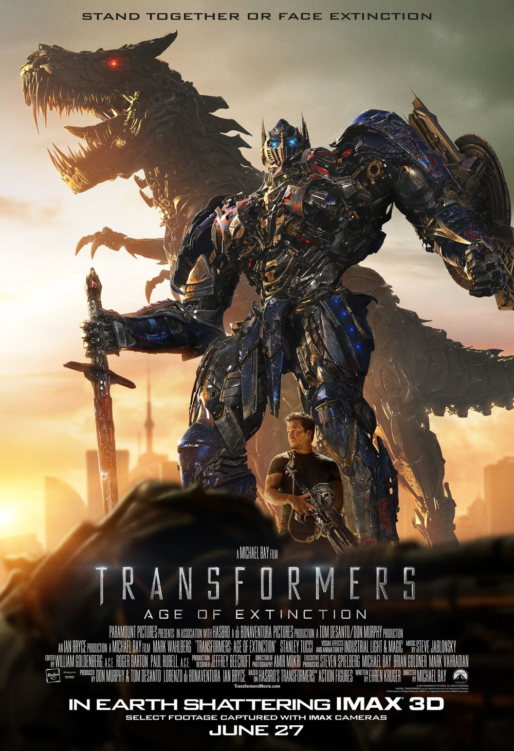 Transformers: Age of Extinction #IMAX Exclusive Art Crushes All Others | Transformers age, Transformers poster, Transformers age of extinction