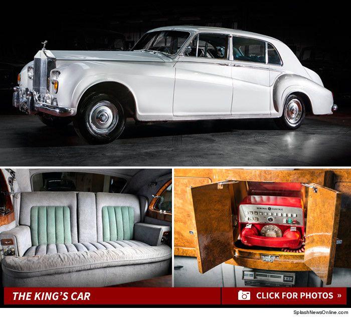 Elvis Presley's Rolls-Royce Phantom V Limo will be sold at