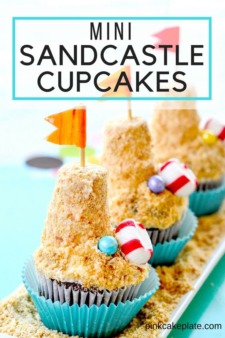 Sand Castle Cupcakes Recipe With Images Perfect Cupcake