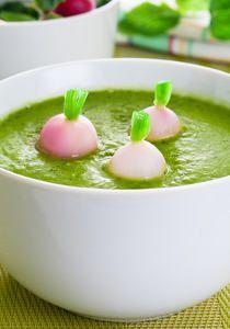 Soupe aux fanes de radis #soupedetoxminceur