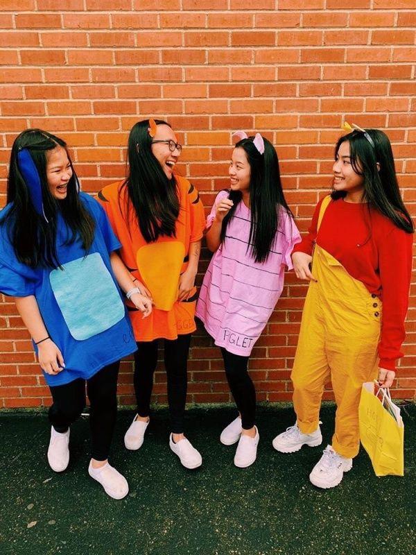 pooh and friends halloween costume // VSCO - @annaavuu  instagram @annaavuu #bffhalloweencostumes