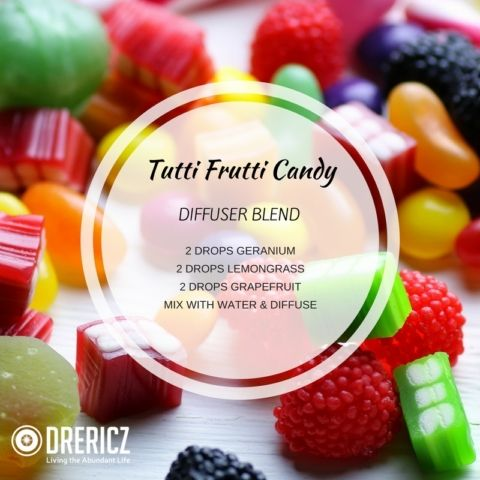 Tutti Frutti Candy Diffuser Blend With Images Essential Oil