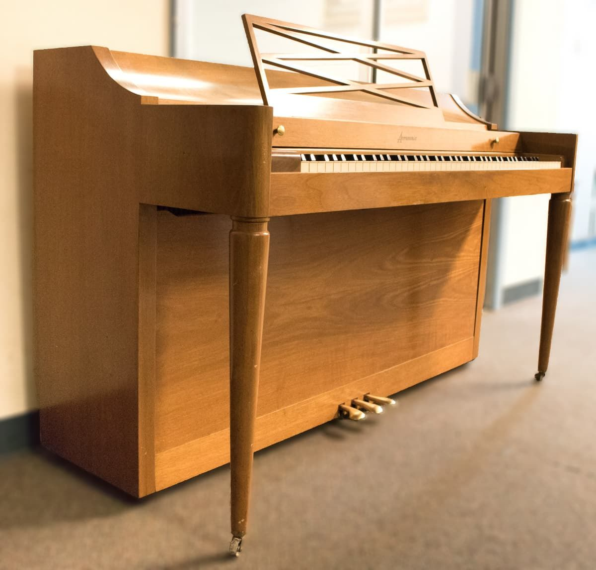 USED Baldwin Acrosonic Spinet Piano (1963   1964) Free Local Delivery