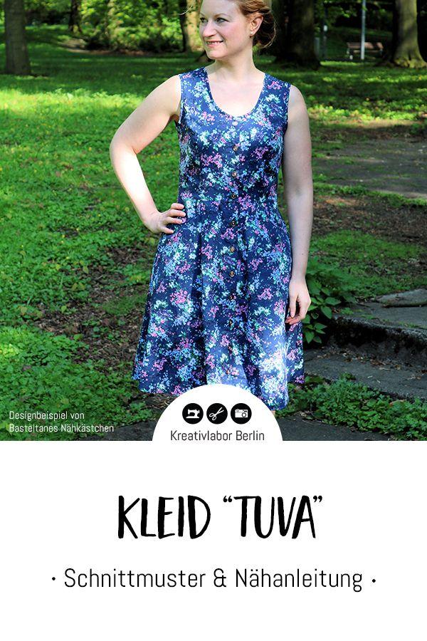 Neues Schnittmuster: Kleid Tuva - Kreativlabor Berlin