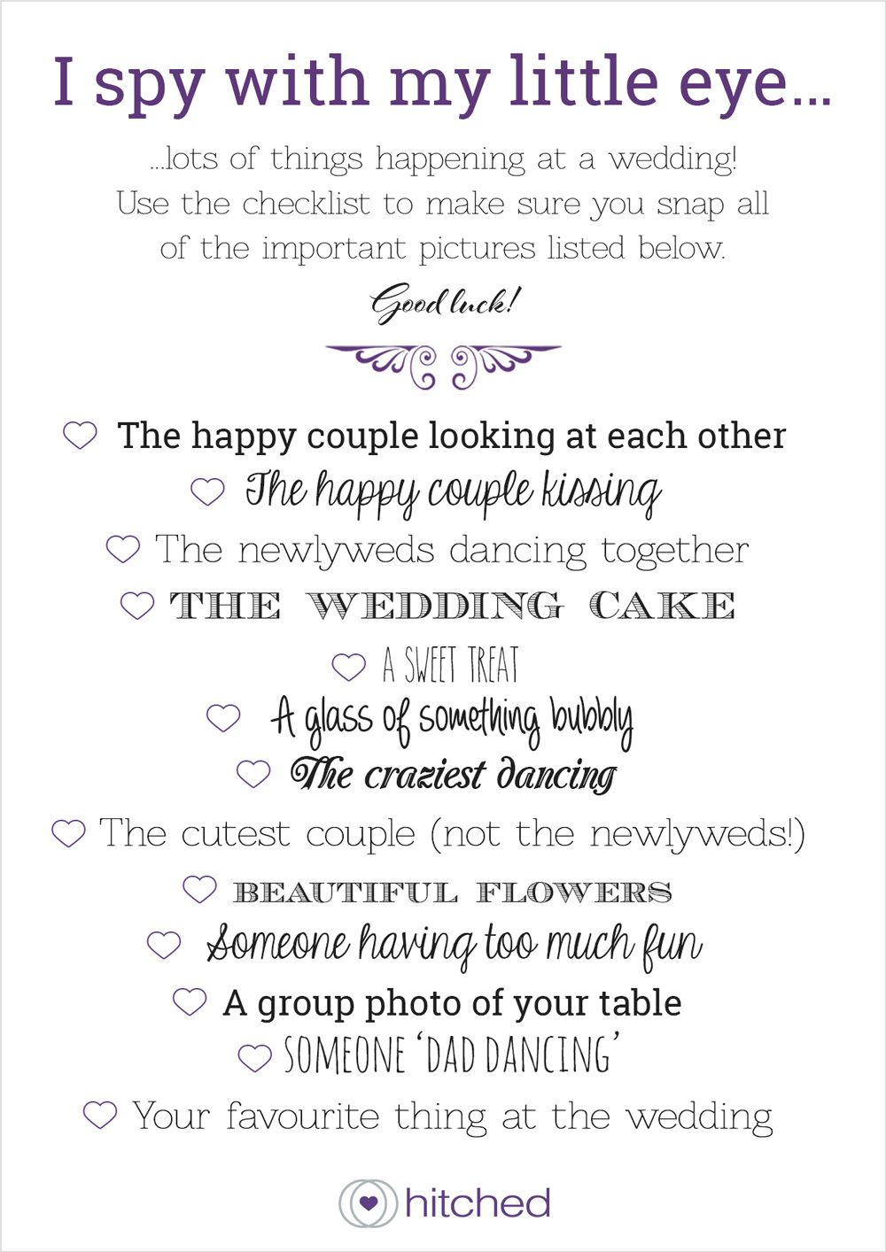 Wedding Table Games: The Best Ice Breakers | Weddings, Wedding and ...