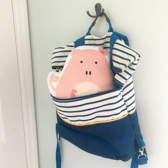 Farm Nursery Decor, Farm Animal Nursery Art. Stuffed Pig, Softie Animals. Kids Throw Pillow, Animal