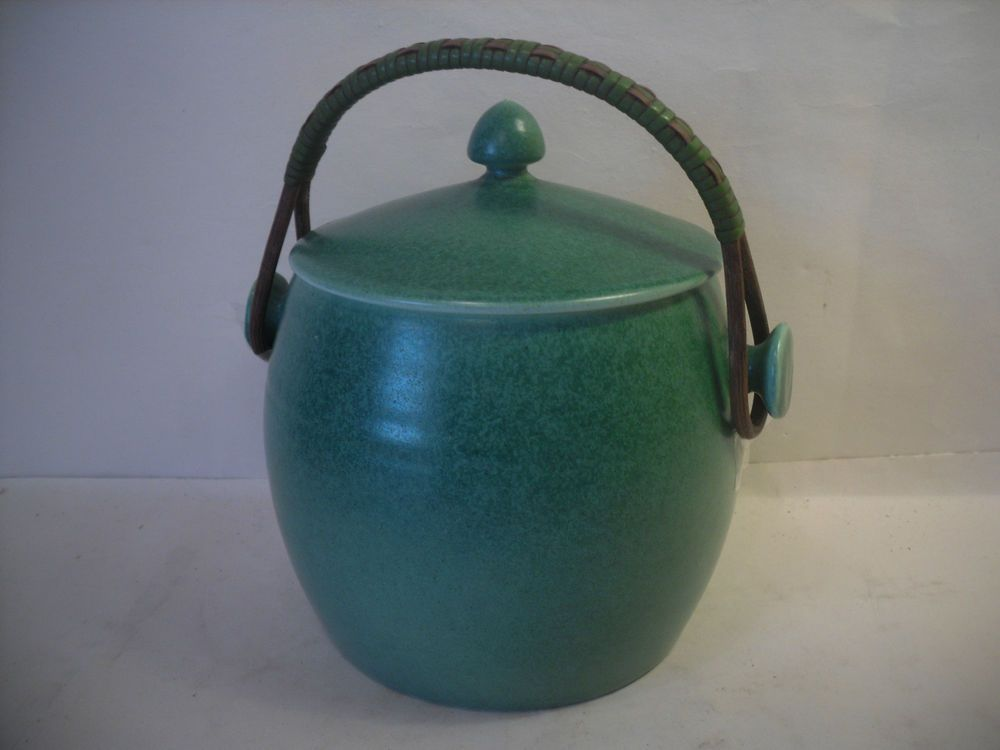 retro art deco poole biscuit barrel in Pottery, Porcelain & Glass, Pottery, Poole | eBay