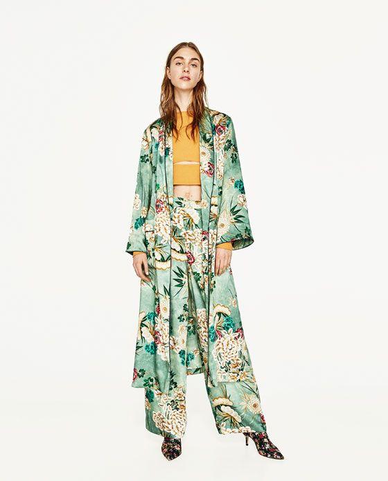 Kimono EstampadoMy Zapatos Y Virtual FemeninaRopa Closet Moda H9IYeEWD2