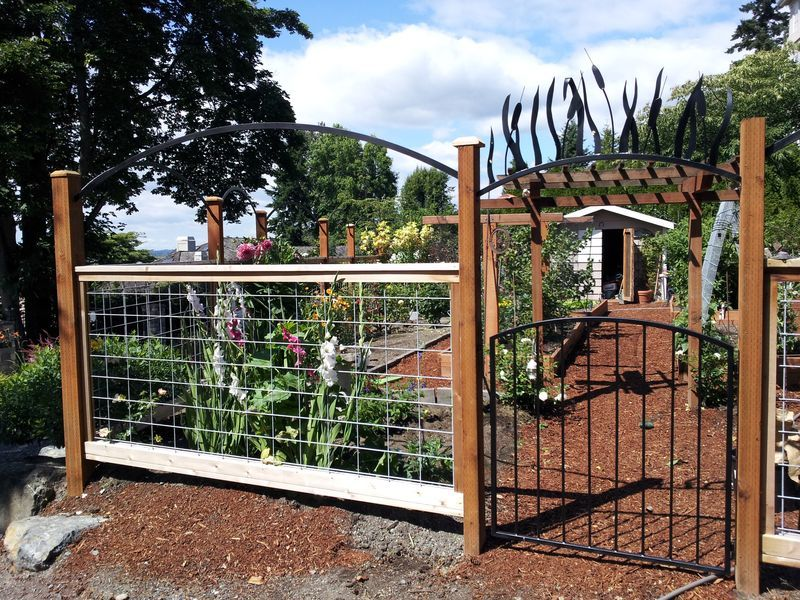 images about ANIMAL PROOF GARDEN FENCING on Pinterest